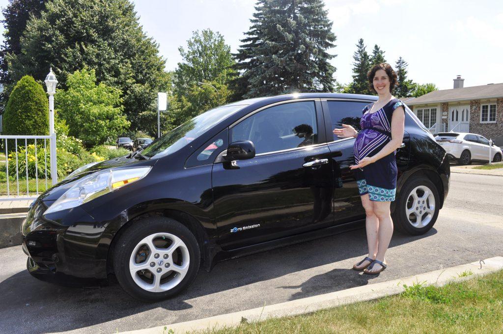Ma Nissan Leaf 100 % électrique